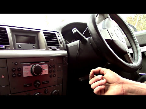 How to remove a radio from a Vauxhall Vectra, Astra, Corsa etc 1.9 ctdi 2007