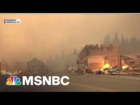 Dixie Fire Now Third-Largest In California History
