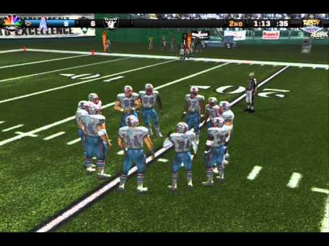 Madden 08 - Oilers at Raiders - 1987 AFC Divisional