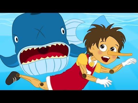 Pinocchio storie per bambini - Cartoni Animati - Fiabe e Favole per Bambini