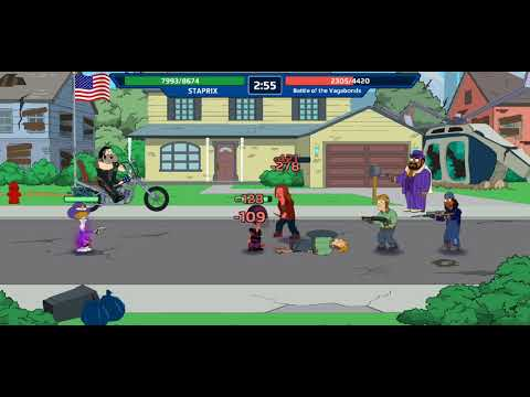 New RPG Android / iOS Game 2019 [American Dad! Apocalypse Soon] Gameplay