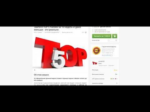 Сео своими руками! Зайти в TOP 5 Yandex за 10 недель и даже меньше - это реально