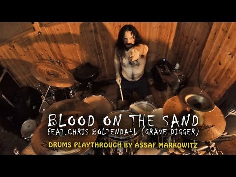 DESERT - Blood on the Sand | Drums playthrough  | feat. Chris Boltendahl of GRAVE DIGGER