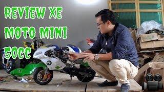 [Review Xe Tam Mao TV] Moto Mini BMW 50cc Chạy Điện Giá Rẻ Cực Hot - Tống Ca