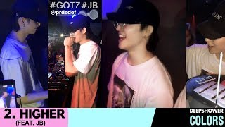 180810 GOT7 JB 재범 HIGHER feat JB DEEPSHOWER PARTY at Itaewon SOAPSEOUL club 이태원 클럽 공연