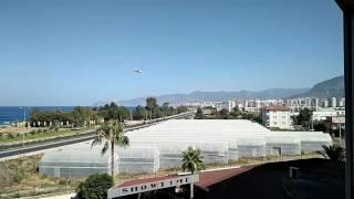 Вертолет Ми-8 тушит пожар в Турции (часть 2)