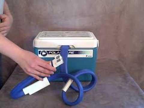 9a38f47306 Breg Polar Care 500 Cold Therapy Unit - DME-Direct.com - YouTube