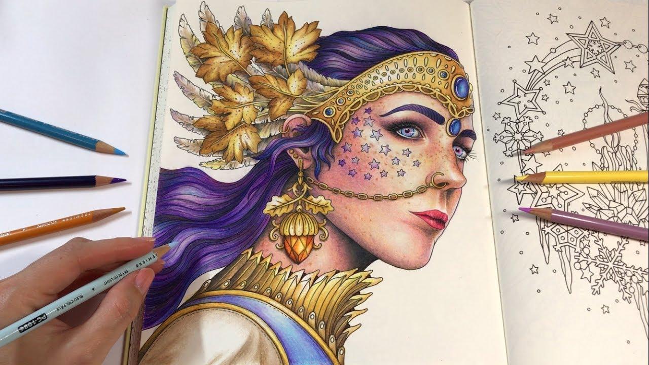Princess Luna Part 2 Seasons Coloring Book By Hanna