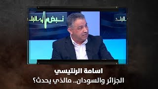 اسامة الرنتيسي - الجزائر والسودان.. مالذي يحدث؟