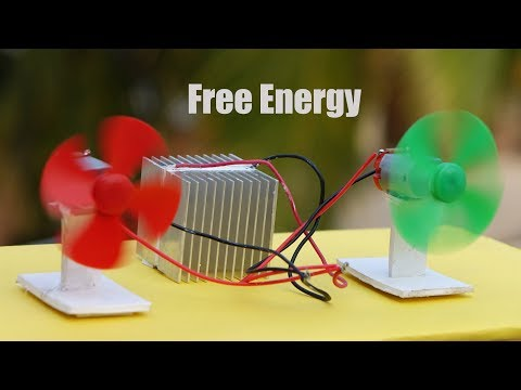 DIY Free Energy Converter at Home