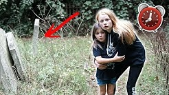 24 HOUR OVERNIGHT AT A GRAVEYARD 😱 **SO SCARED!**