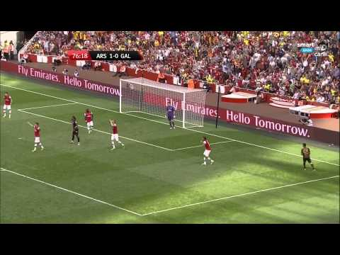 Arsenal 1 - 2 Galatasaray Emirates Cup (04.08.2013) 1080p Fu