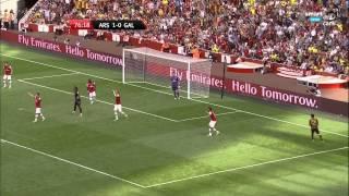 Arsenal 1 - 2 Galatasaray Emirates Cup (04.08.2013) 1080p Full HD (Smart Spor Gerçek HD Kalitesi)
