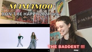 Reaction to [Special] 마마무 (MAMAMOO) - 행복하지마 2021 (Don't Be H…