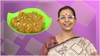 Bajra Veg Sevai   Mallika Badrinath   Oil Free, Diabetic And Healthy Indian Recipes