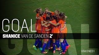 WNT vs. Netherlands: Shanice van de Sanden Goal - Sept. 18, 2016