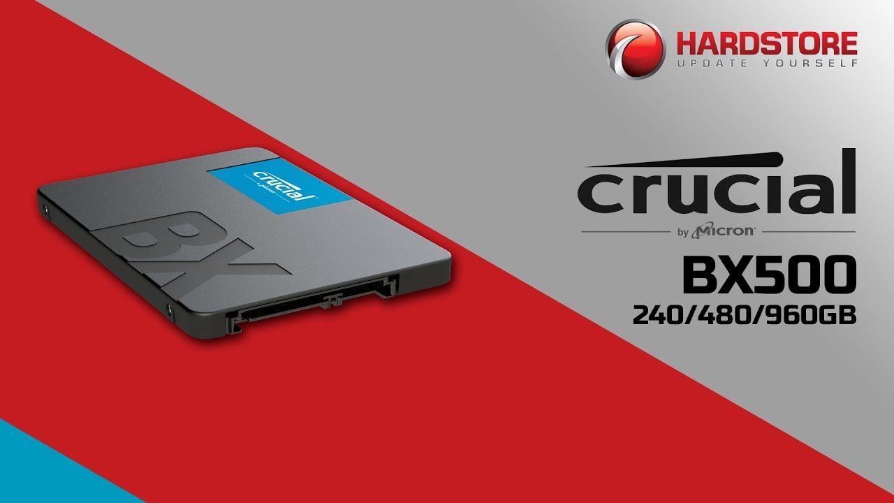 Teste SSDs Crucial BX500 240GB, 480GB e 960GB [PT-BR]