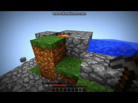 Minecraft (SKYBLOCK) 3 ep. [1/2] NEKONEČNÁ VODA A ZÁHRADA