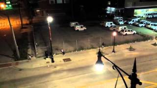 Roman Candle Shootout In The Streets Of Chicago!