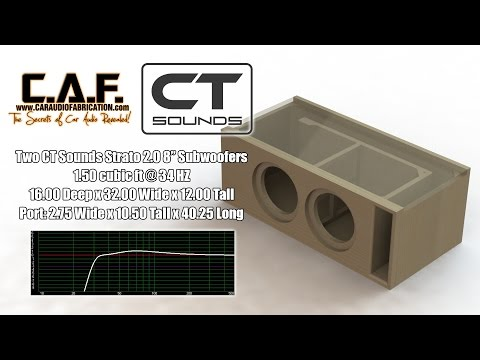 ct-sounds-how-to-|-build-a-subwoofer-box-for-strato-8""