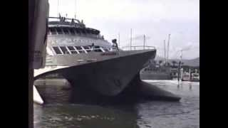 Quicksilver high  speed wave piercing catamaran wpc 1990