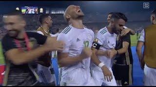 Riyad Mahrez mit dem Last-Minute-Freistoßtor: Algerien steht im Finale!