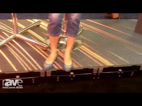 InfoComm 2015: Infiled Demonstrates Interactive Dance Floor