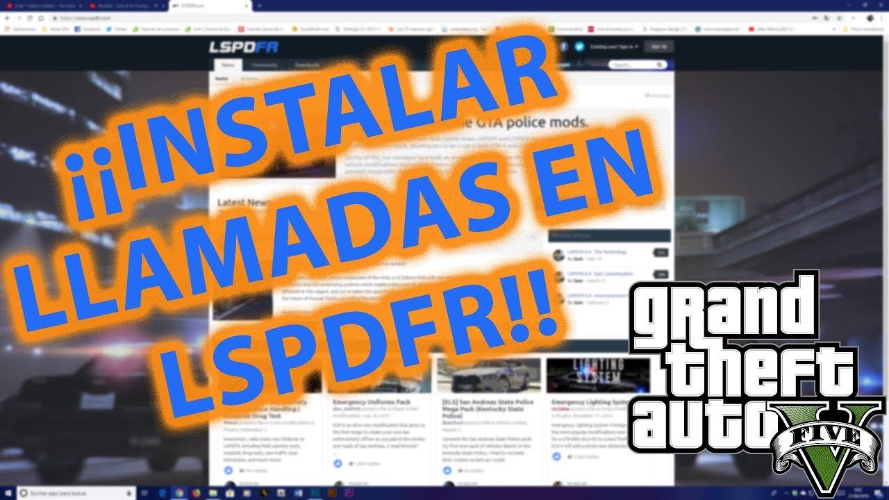 COMO INSTALAR PLUGINS DE LSPDFR EN GTA V + RECOMENDACIÓN AL FINAL DEL VÍDEO