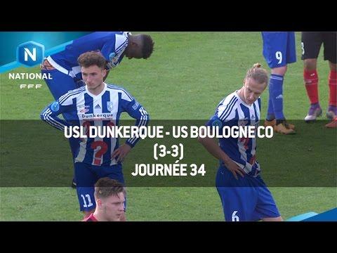 J34 : USL Dunkerque - US Boulogne CO (3-3), le résumé