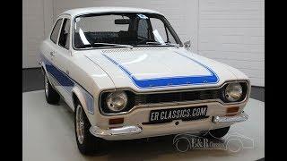 Ford Escort MKI RS2000 1974 -VIDEO- www.ERclassics.com