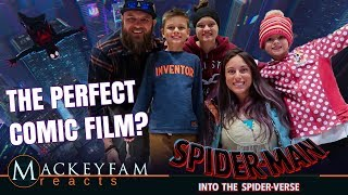 SPIDER-MAN: INTO THE SPIDER-VERSE- MOVIE REVIEW!!!