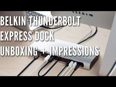 Belkin Thunderbolt Express Dock Unboxing