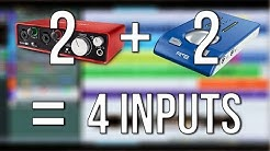 How to Use Multiple Audio Interfaces Simultaneously