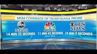NETWORKS IGNORE LORRETA LYNCH STORY IN FAVOR OF MORE TRUMP RUSSIA COVERAGE!