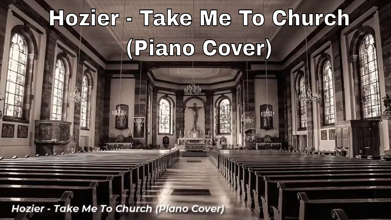 how to play take me to church on piano