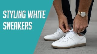 How to Style: 6 Ways to Wear White Sneakers 2019 Lookbook