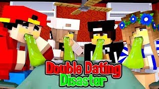 DOUBLE DATE DISASTER! w/Little Carly (Minecraft Roleplay)..