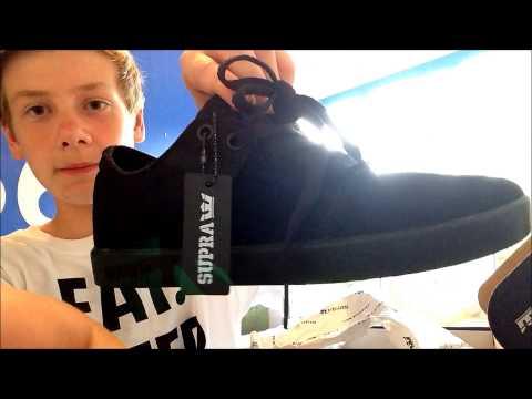 Supra Shoes Unboxing+Sesh