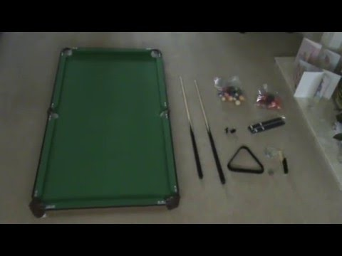 & Debut - Snooker/Pool table - Review/set-up guide - YouTube