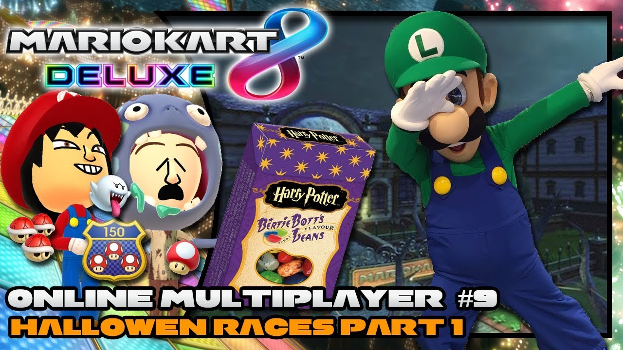 High Quality Costume | Mario Kart 8 Deluxe   Online Multiplayer #9    Halloween Special   Part 1