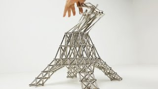 Destroying Magnetic Sculptures, Satisfaction or Disappointment? | Magnetic Games