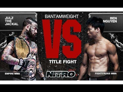 Knockout. (c) Julz The Jackal vs Ben Nguyen MMA