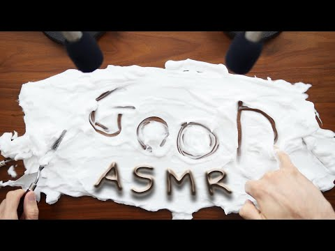 ASMR Writing on Shaving Cream | NO TALKING | FOR SLEEP