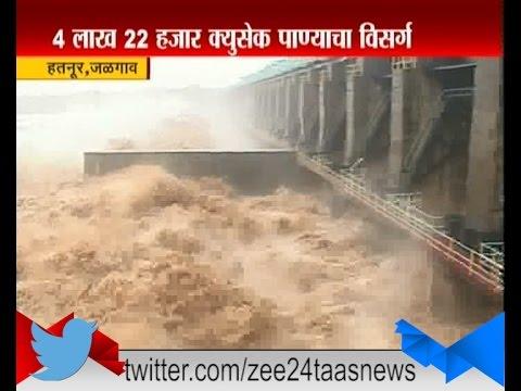 Jalgaon : Hatnur Dam Overflow Of Heavy Rainfall