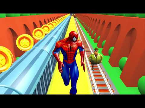 Spiderman Subway Surfers 3D