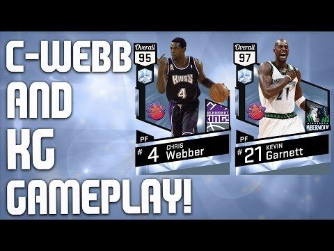 Diamond Beast Kevin Garnett & Chris Webber Gameplay - Savage Opponent -  NBA 2K17 MyTeam - FGF
