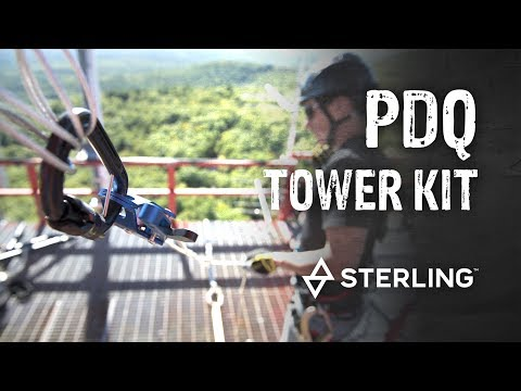 Product Spotlight: Sterling Rope PDQ Tower Emergency Descent