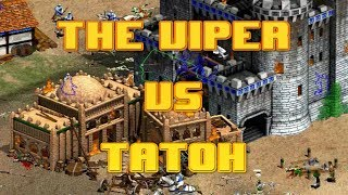 THE VIPER VS TATOH ARABIA RANDOM CIV AGE OF EMPIRES 2