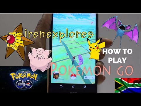 HOW TO PLAY POKEMON GO: Playing in South Africa