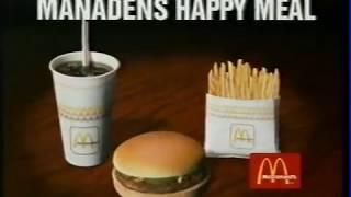 McDonalds reklam december 1995